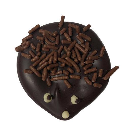 Chocolat noir hérisson caraque