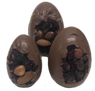 Holle eieren studentenhaver melkchocolade