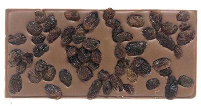 Chocoladetablet rozijnen M