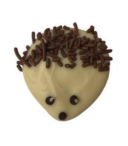 Caraque egel witte chocolade